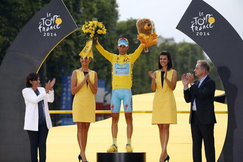Vincenzo Nibali conquista il Tour de France 2014