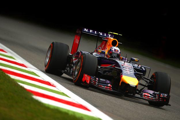 Ricciardo su Red Bull a Monza