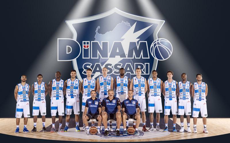 La squadra della Dinamo Sassari
