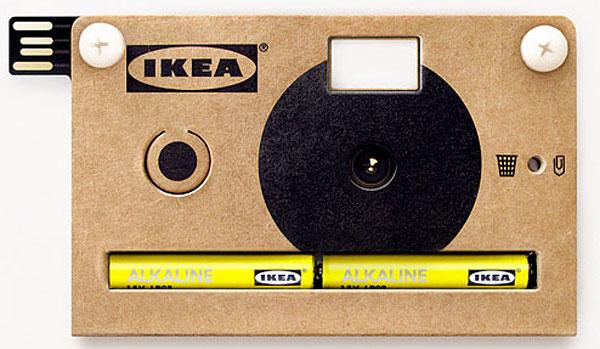 KNÄPPA, la fotocamera digitale di IKEA