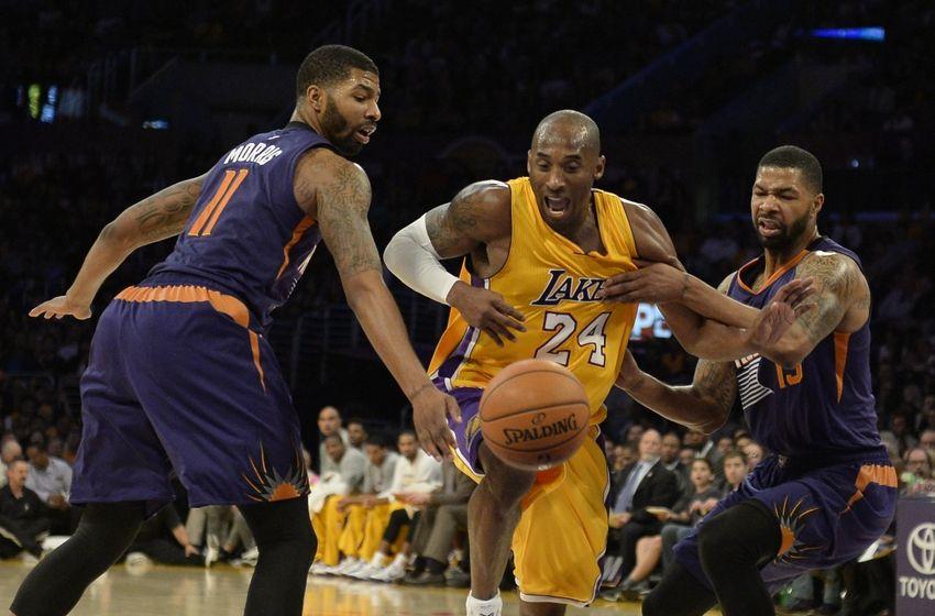 Kobe Bryant da solo sull'isola a Los Angeles