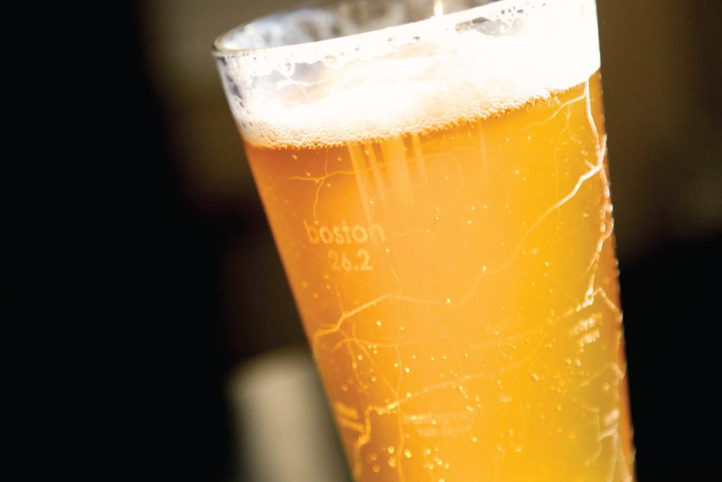 Bicchiere da Birra dedicato alla Maratona di Boston