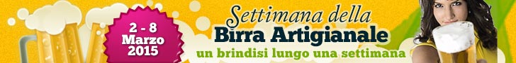 Settimana della Birra Artigianale 2015 - Dal 2 all'8 Marzo