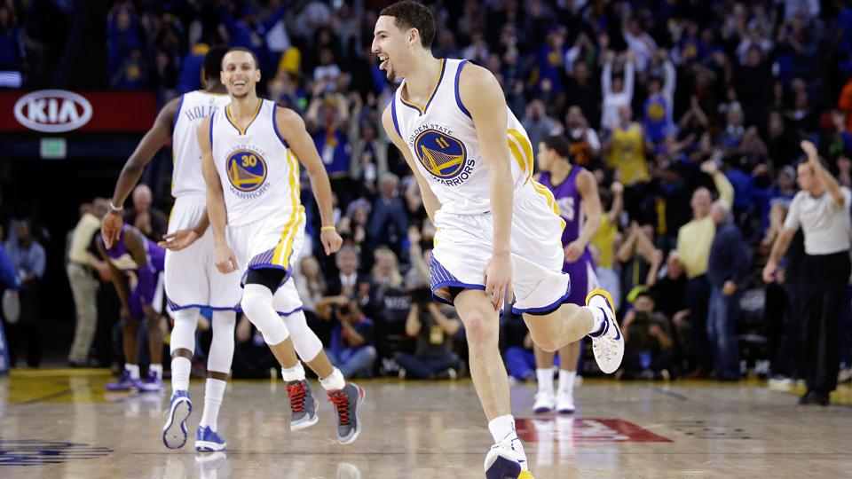 37 punti in un quarto per Klay Thompson