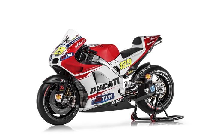La nuova Ducati GP15
