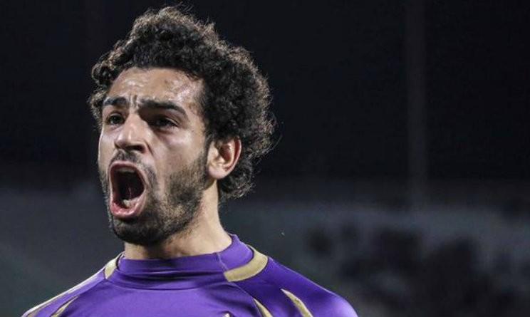 L'urlo di gioia di Mohamed Salah