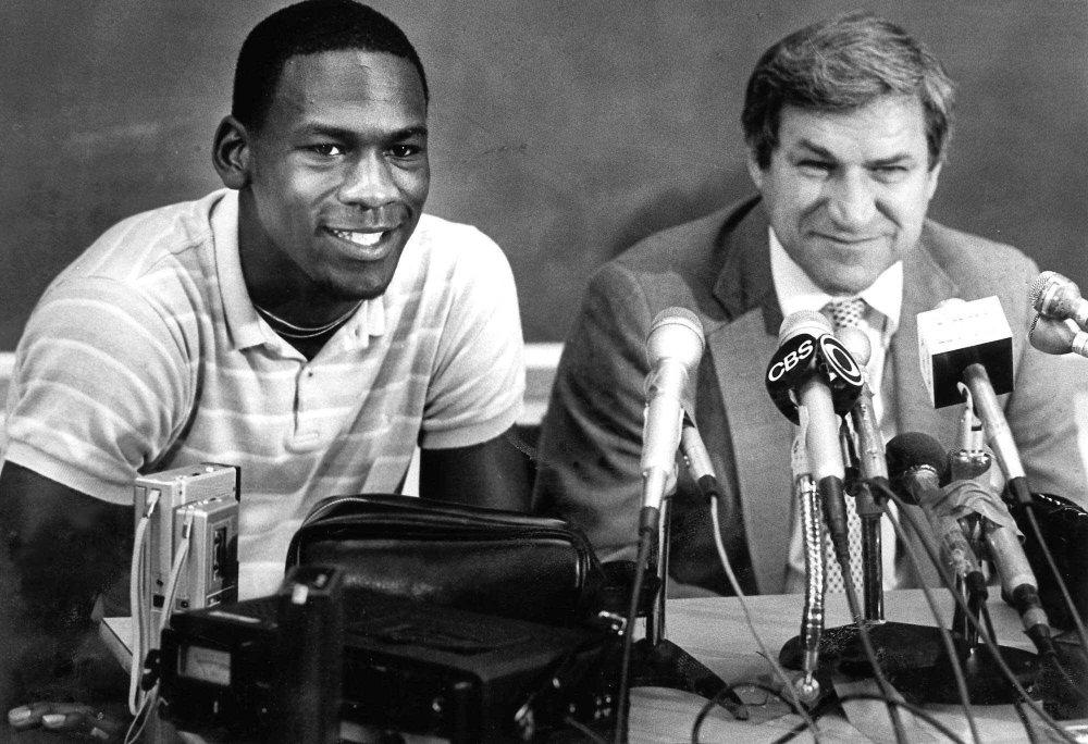 Dean Smith e Michael Jordan