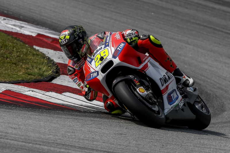 MotoGP: la Ducati GP15 sembra nata bene