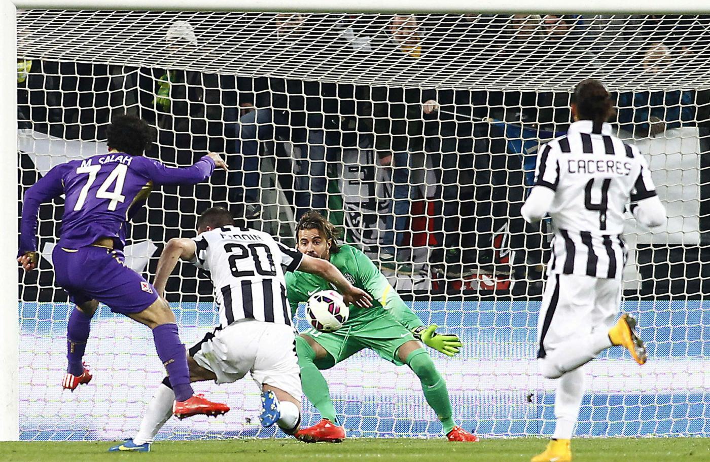 Salah incanta Firenze e la Fiorentina sbanca lo Juvetus Stadium