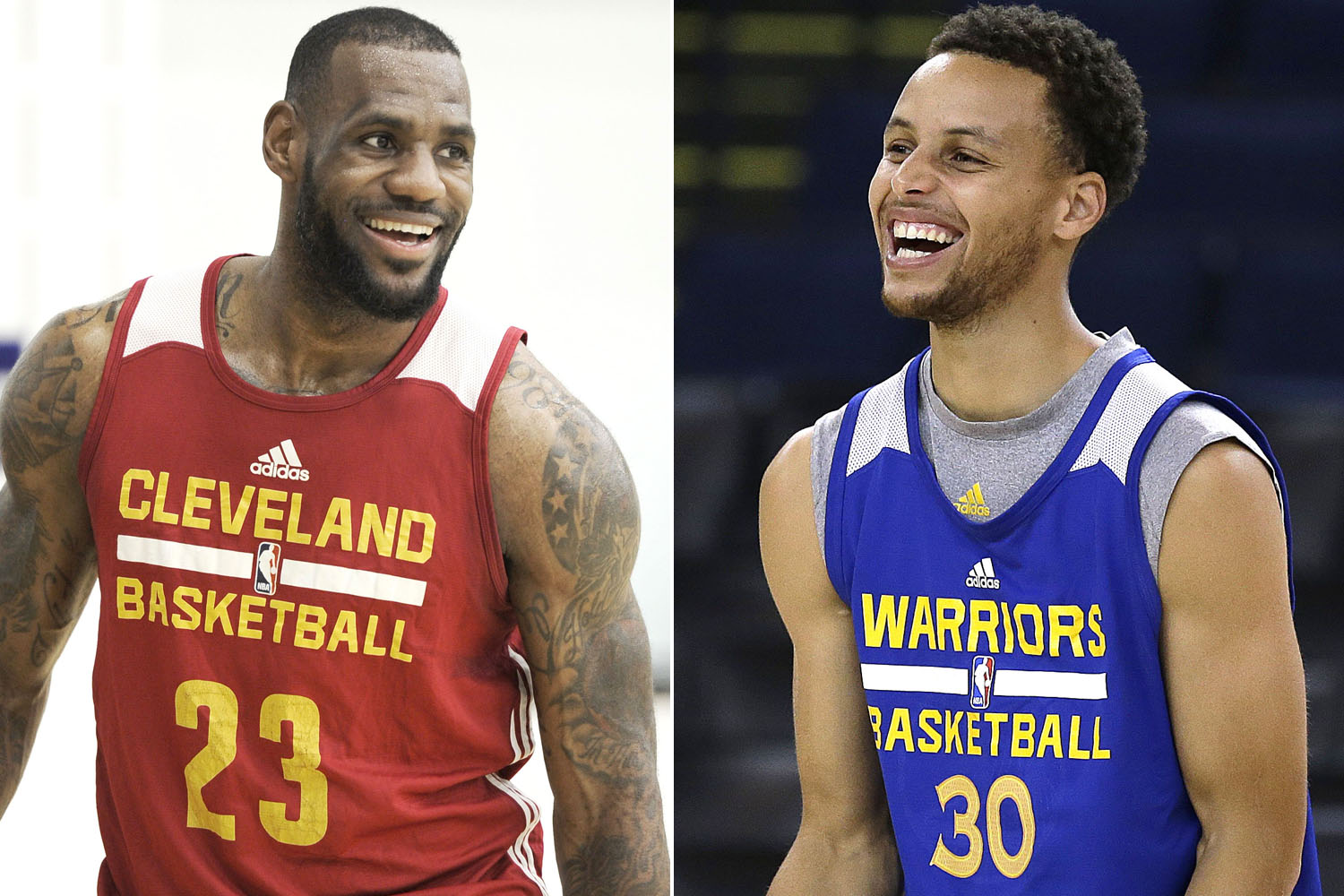 Lebron James vs Stephen Curry