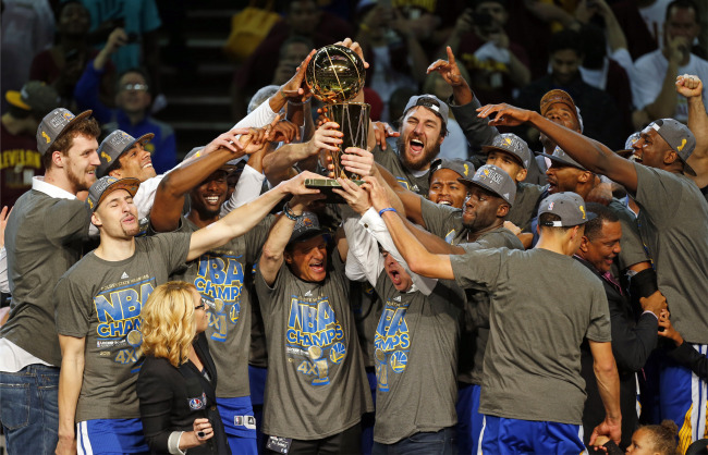 #NBA: i Golden State Warriors vincono il Titolo 2015