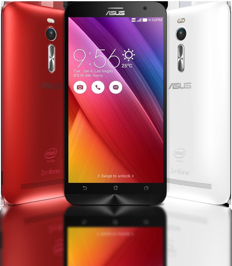 Smartphone: Asus ZenFone 2 (ZE550ML)