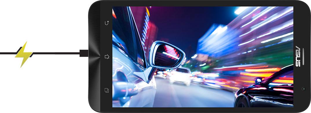 L'Asus ZenFone 2 è dotato anche della nuova BoostMaster Technology