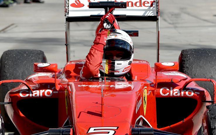 Vettel su Ferrari trionfa in Ungheria