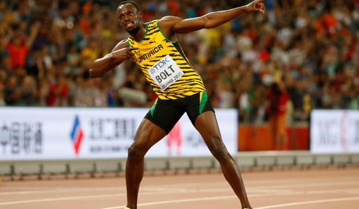 Usain Bolt vince l'oro mondiale 2015 sui 100 metri