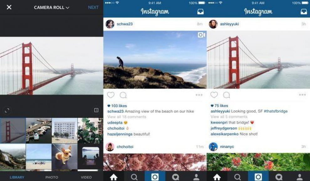 Instagram dice addio al quadrato