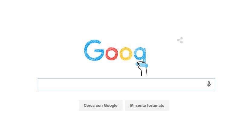 Il doodle del nuovo Logo di Google