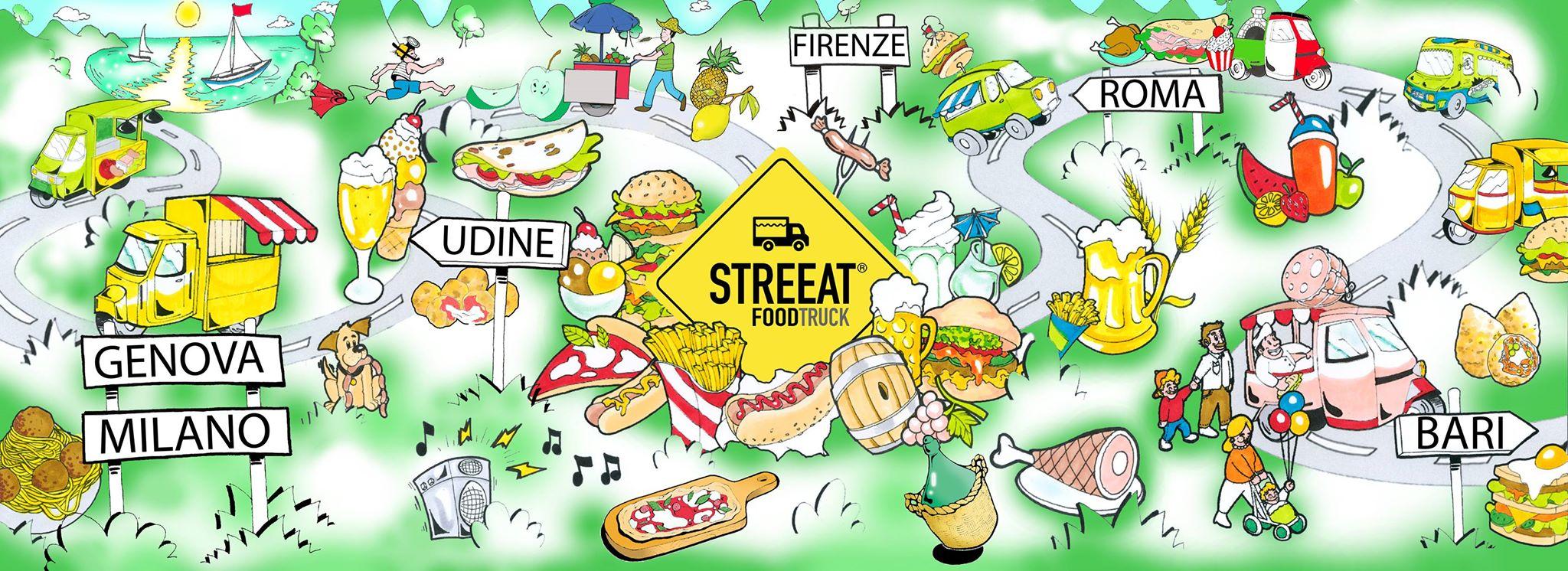 STREEAT® FOODTRUCK FESTIVAL, il festival italiano dedicato al cibo di qualità - Dal 2 al 4 Ottobre 2015 a Firenze