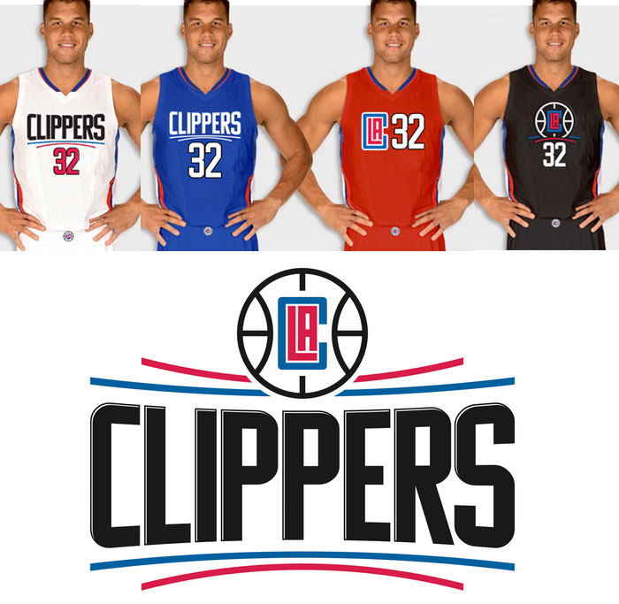 Le nuove maglie ed il nuovo Logo dei Clippers