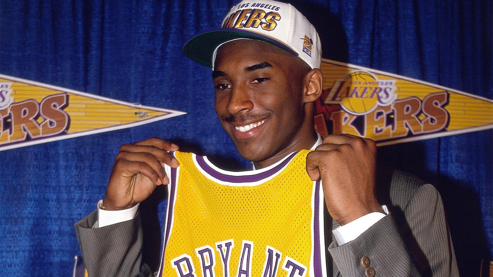 Kobe Bryant al Draft del 1996