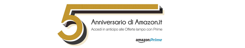 Lunedì 23 Novembre Amazon.it compie 5 anni