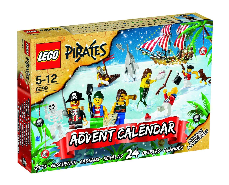 Calendario dell'Avvento dedicato ai Pirati Lego