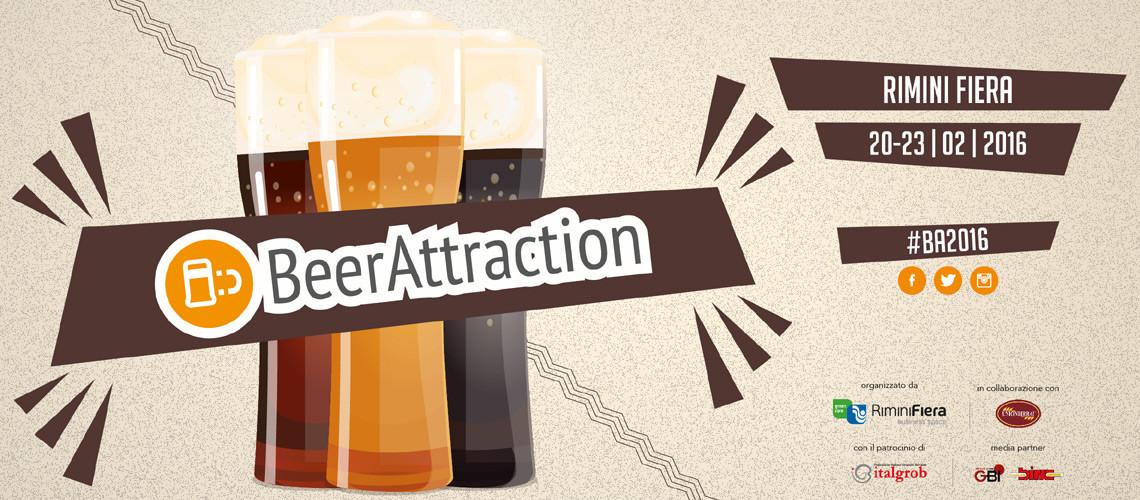 BeerAttraction 2016 - Dal 20 al 23 Febbraio 2016 a Rimini