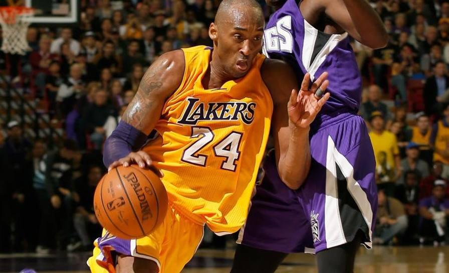 Kobe Bryant, 28 punti per lui