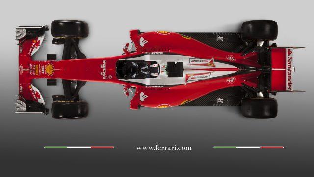 L'aerodinamica della Ferrari SF16-H
