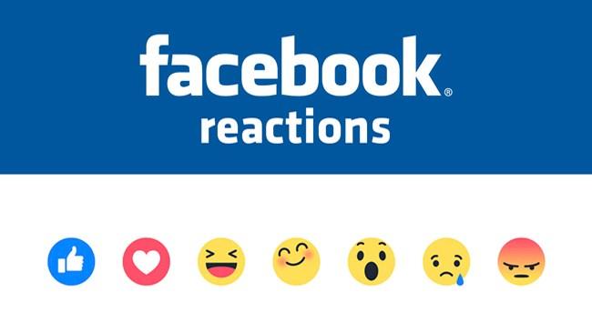 """Facebook Reactions: al """"mi piace"""" si aggiungono le """"faccine""""....."""