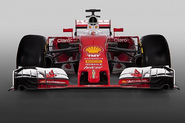 Il muso della Ferrari SF16-H