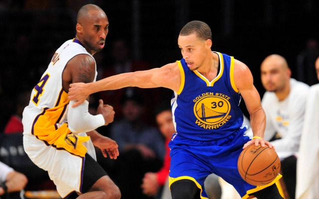 Kobe Bryant contro Stephen Curry