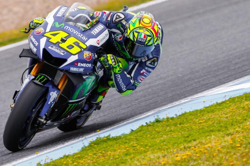 un immenso Valentino Rossi trionfa a Jerez in casa degli spagnoli