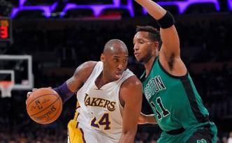 34 punti per Kobe Bryant contro i Celtics