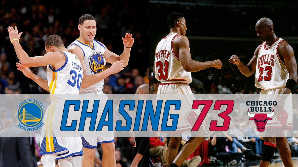 I Warriors vanno a caccia delle 73 vittorie