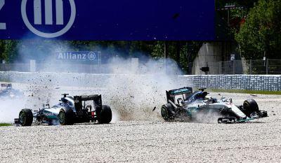 Rosberg ed Hamilton
