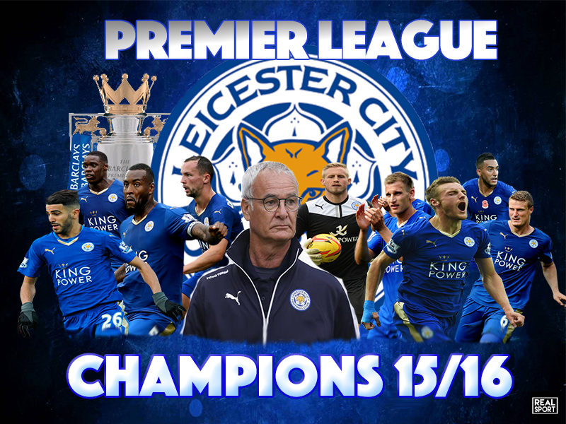 il Leicester City Football Club allenato da Claudio Ranieri ha conquistato la prima Premier League della sua storia