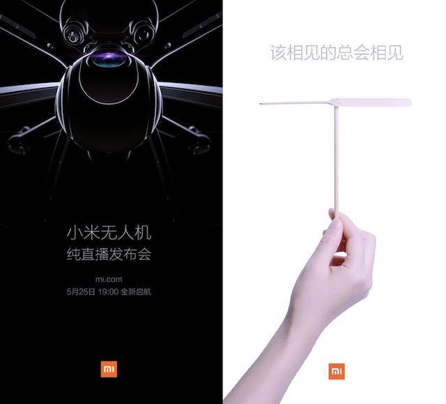 Xiaomi il 25 Maggio 2016 presenterà il suo primo drone
