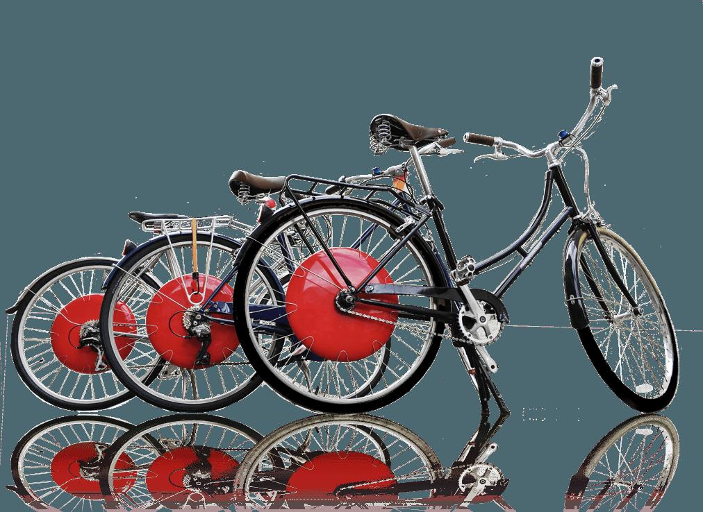La Copenhagen Wheel installata su diverse biciclette