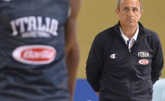 Ettore Messina, CT dell'Italia