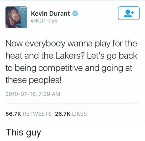 Il famoso tweet di Kevin Durant