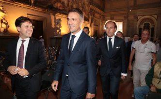 Batistuta cittadino onorario di Firenze