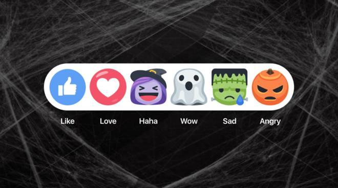 Facebook festeggia Halloween: emoticon con streghe, fantasmi e zucche