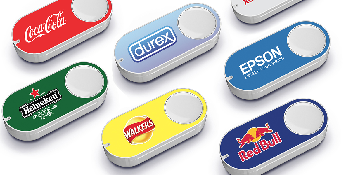 Le cover dell'Amazon Dash Button