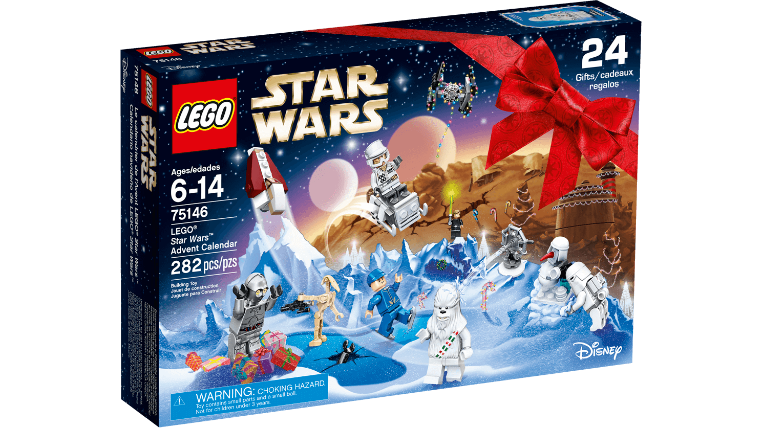 Calendario Lego Star Wars (codice 75146)