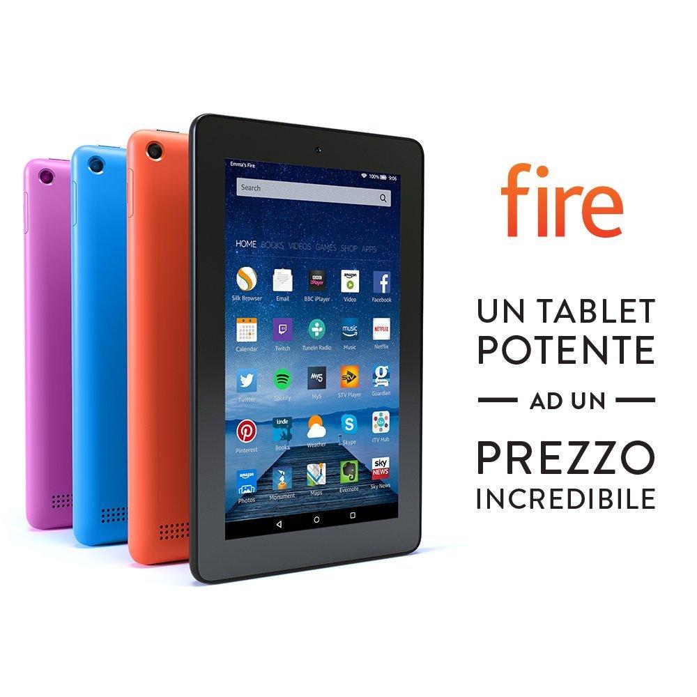 Amazon, ecco l'antipasto del BlackFriday: Kindle Paperwhite e Tablet Fire in offerta!