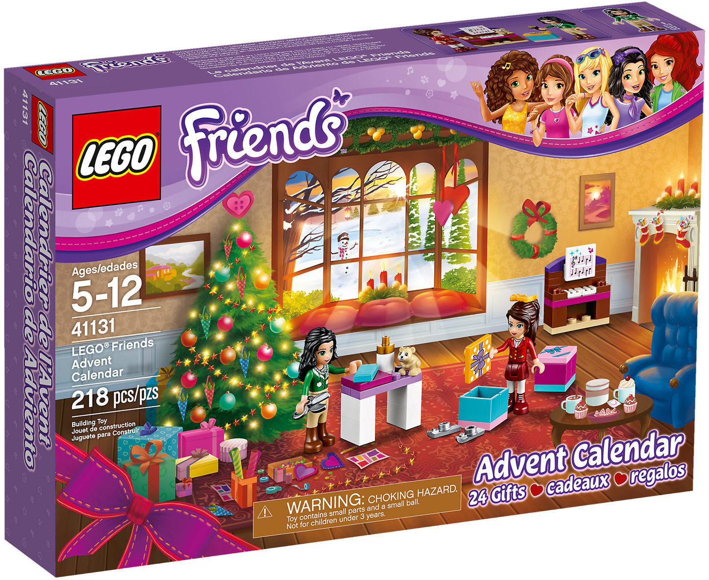 Calendario dell'Avvento 2016 Lego Friends (codice 41131)