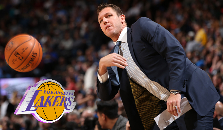 Luke Walton, coach dei Lakers