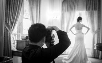 Un fotografo di matrimoni