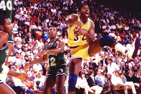 Magic Johnson ai tempi dello Showtime